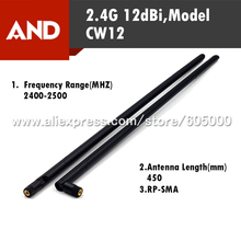 New Arrival 2.4G 12dBi Wifi Wireless Antenna,RP-SMA  Wireless WiFi Router antenna 1pcs