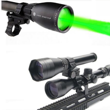 Zero Degrees Celsius Start Night Vision Green Laser Designator Hunting Lights ND-50 w 2 Ajustable Scope Mount 2 Switch M