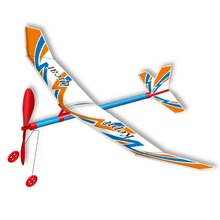 Rubber Band Powered Aircraft Model DIY plane model Assembled Toy puzzle children gift handmade airplane