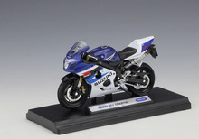 Welly 1:18 SUZUKI GSX R750 MOTORCYCLE BIKE DIECAST MODEL TOY NEW IN BOX FREE SHIPPING