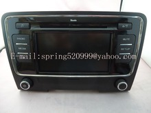 VW SKODDA 6 CD CHANGER MEDIA RADIO 28168609 3TD035156 DE2-7WJ CAR TUNER TUNCH SCREEN