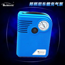 Portable Electric Car tire inflator pump 12 V auto inflator pump air compressor with tire pressure table Cigarette Lighter Power