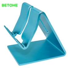 BETOHE Universal Aluminum Metal Mobile Phone Tablet Desk Holder Stand for iPhone 7 / 7 Plus 6s 6 5s 5 Cellphone for Ebook