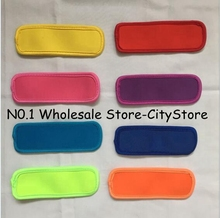200pcs Popsicle Holders Pop Ice Sleeves Freezer Pop Holders 6x18cm for Kids Summer Kitchen Cookies 8 color Have Stock