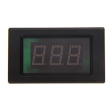 Red LCD AC 80-300V Volt Voltage Amp Panel Meter Voltmeter Ammeter 50A