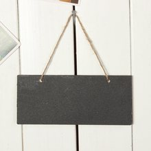 Mini Blackboard Chalkboard Wooden Message Sign With Hang String Wedding Party Decoration Marriage Supplies 18.5*8cm