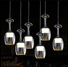 Modern creative crystal ceiling lamps LED lamps living room dining room glass ceiling lamp led lustre light ceiling lights
