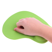 Solid Color Comfortable Anti-Slip Memory Foam Wrist Rest Support Gel Mouse Pad For Gaming Gamer Computer Laptop