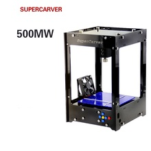 Freeshipping Supercarver laser carving V2/1000mw mini DIY laser engraving machine/IC marking/laser printer/carving work