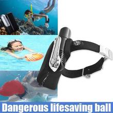 1Pcs Swimming Air Bag Rescue Health Care Inflatable Float Ring Drowning Pool Emergency Survival Tool Kits Lifesaving Wristband