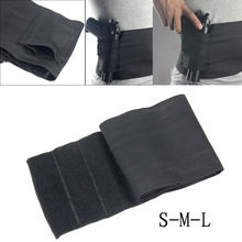 Tactical Elastic Waist Concealed Carry Belly Band Pistol Gun Holster 2 Magzine Pouch For Glock 23 Sig 226(3 size)