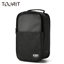 TOURIT NEW Shoes Travel Bag Portable Waterproof Breathable Shoes Bag Unisex Red Travel Shoes Bag Little Luggage Travel Bags(China)