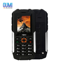NOMU T10 Waterproof Dustproof Shockproof 2G Mobile Phone Quad Band MTK6261A 32M+128M 0.3MP Flashlight 2800mAh Cellphone(China)