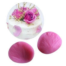 Petal Shaped Silicone Mold Cake Decoration Fondant Cake 3D Food Grade Silicone Mould  - C349