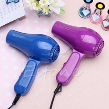 220V Portable Mini Hair Blow Dryer 850W Traveller Hair Dryer Compact Blower Foldable With US Plug #E207Y# Hot Sale(China)