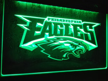 LD054- Philadelphia Eagles Football   LED Neon Light Sign     home decor shop crafts