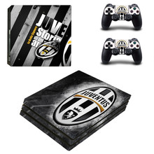 Buy Juventus Football Club PS4 Pro Skin Sticker Sony PlayStation 4 Pro Console Controllers PS4 Pro Stickers Decal for $9.49 in AliExpress store