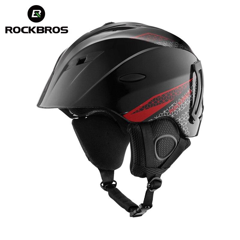 ROCKBROS Integrally-molded Professional Snowboard Helmet Adult Teenager Winter Thermal Ultralight Breathable Cycling Ski Helmets<br>