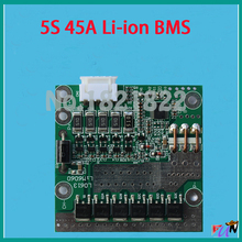 5S 45A 11.1V li-ion BMS PCM battery protection board bms pcm for lithium LicoO2 Limn2O4 18650 li battery(China)