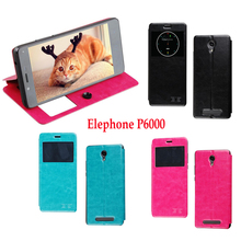 "Buy Elephone P6000 Case Flip Leather Case Cover Elephone P6000 / P6000 Pro 5.0"" View Window Phone Bags PU Leather Shell Cover for $4.49 in AliExpress store"