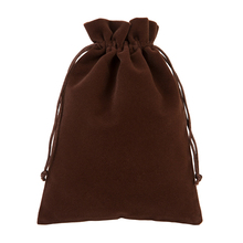 "Gift Pouch 20x30cm(8""x12"") 5pcs/lot Big Velvet Red Wine Packaging Bag Makeup Jewelry Drawstring Bag Glasses Shoe Scarf Pocket"