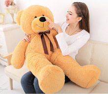 120cm BIG STUFFED TEDDY BEAR TOY COVER(WITHOUT FILLING)(China)