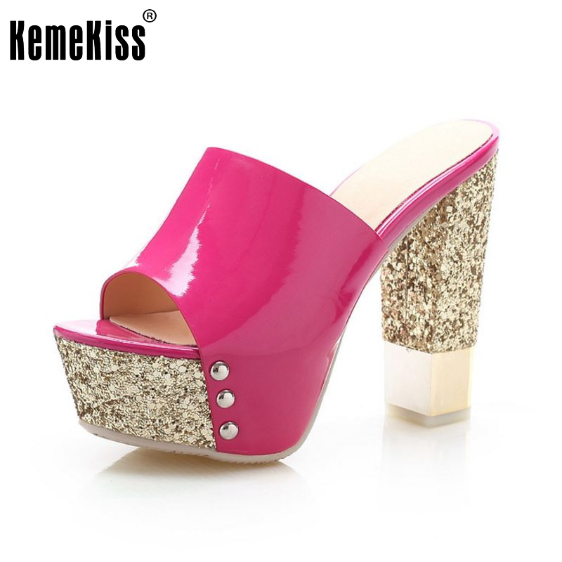 women peep open toe stiletto platform party high heel sandals sexy fashion ladies heeled footwear heels shoes size 34-39 P18550<br>