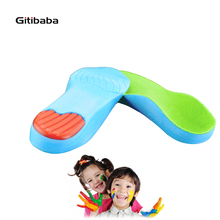 Premium Grade Kid's  Orthotic Insole Revolutionary Lightweight Soft children orthopedic For Flat Feet and Arch Support for shoes
