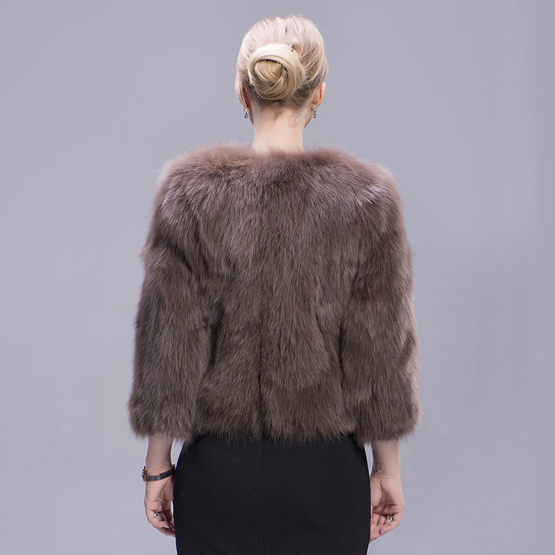 fox fur coat coffee 6 1