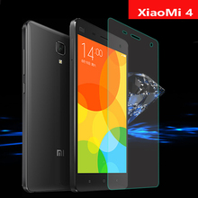 9H Hardness Tempered Glass Film For Xiaomi 4 Mi4 M4 Premium Screen Protector 5.0inch Xiaomi4 No Finger print Glass Protective