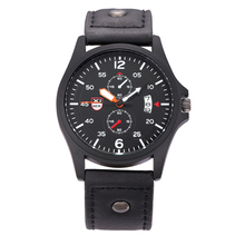 Watches XINEW Brand Mens Clock Fashion Barato Cheap Gifts Quartz Watch Relojes Lujo Marcas Men Army Date Calendar Vintage Watch