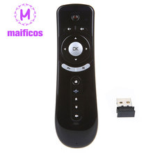 T2 Fly Air Mouse Remote Control 2.4G Wireless 3D Gyro Sense Motion Gyroscope Keyboard For Android TV Box Google TV