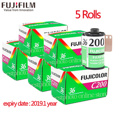5 Roll/lot Fujifilm Fujicolor C200 Color 35mm Film 36 Exposure for 135 Format Camera Lomo Holga 135 BC Lomo Camera Dedicated(China)