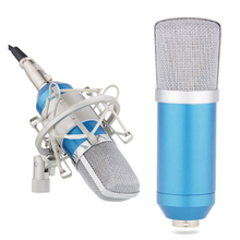 Brand New Studio Recording Condenser Microphone with Shock Mount Holder Clip for Radio Gaming and Video Chat