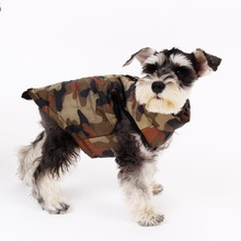 Pet Coat Dog Vest Camouflage Clothes Four Size Autumn & Winter Clothing For Small Dog Durable Apparel Warm Cat Puppy Jacket