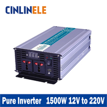 Smart Series Pure Sine Wave Inverter 1500W CLP1500A-122 DC 12V to AC 220V 1500W Surge Power 3000W Power Inverter 12V 220V
