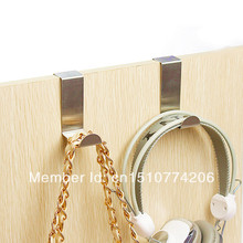 1set/2pcs  Home Useful Handbag Clothes Purse Hanger Hook Holder