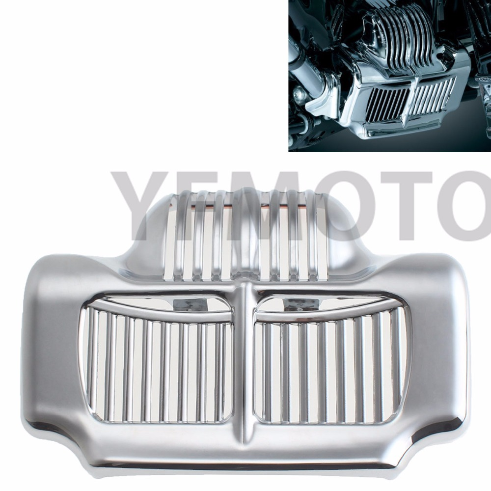 ABS Plastic New Silver Stock Oil Cooler Cover  For Harley Fit Touring Electra Road Street Glide 2011 2012 2013 2014 2015<br>