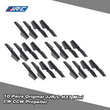 10 Pairs Original JJR/C H37 Mini-05 Propeller CW CCW for JJRC H37 Mini Selfie Drone Quadcopter RC Helicopter(China)