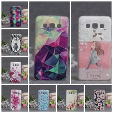 Case Samsung Galaxy A3 2015 3D Painted Pattern Coloured Drawing TPU Soft Phone Cover A3000 Cases - Sunny Store store