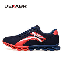 Brand Autumn Spring New Running Shoes Comfortable Breathable Mesh Running Sports Shoes Light Running Top Quality Men Run Shoes(China)