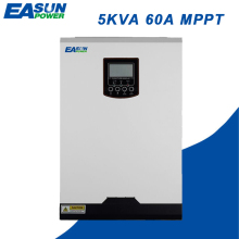 EASUN POWER 4000W Solar Inverter 60A MPPT 48V 220V Off Grid Inverter 5Kva Hybrid Inverter Pure Sine Wave Inverter 60A AC Charger