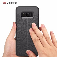 BROTOLA Ultimate Experience Luxury Soft TPU Lychee Texture Phone Case For Samsung Galaxy S8 Case Cover Capa Fundas(China)
