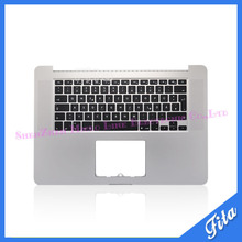 "100% New Topcase Palmrest with German GR Keyboard For MacBook Pro Retina 15"" A1398 MC975 MC976 2013(China)"