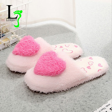 Women Home Slippers Winter Autumn Slip On Comfortable Indoor Slipers Soft Girls Ladies Home Shoes 2017 Cute Footwear(China)