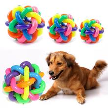 Colorful Pet Dog Cat Toy with Bell for Small Medium Large Dog Gift Pet Product(China)