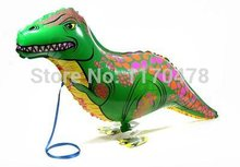 HOT 20pc/lot Dinosaur balloon walking balloon animals inflatable air ballon for dinosaur party supplies 90X40CM kids classic toy