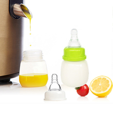 60ml Baby Feeding Bottle mamadeiras Newborn Kids Nursing Care Feeding Feeder Fruit Juice Milk Bottles