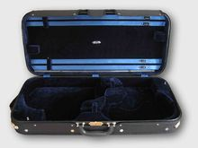 Pro. Wooden Double violin / viola case double case