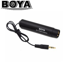 BOYA Condenser Right Angle 3.5mm St M to XLR M Cable Adapter for Sony BOYA BY-WM5 Wireless Microphone(China)